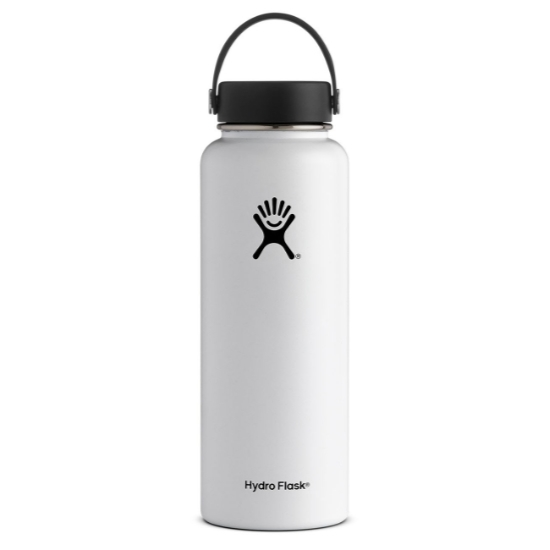 Hydro Flask 40oz Wide Mouth - White