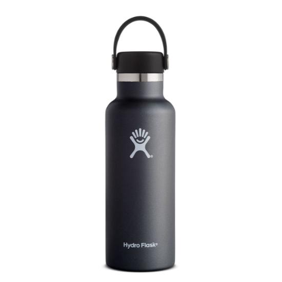 Hydro Flask 18oz Standard Mouth - Black