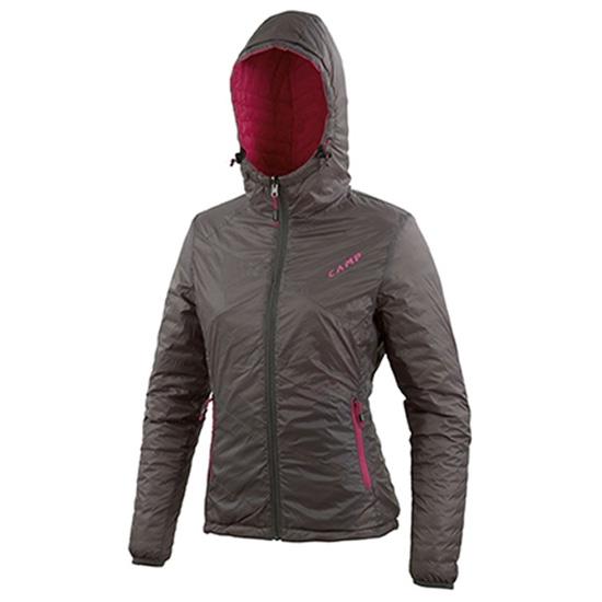 Camp ED Duo Jacket Lady W - Basalt Grey/Fuchsia