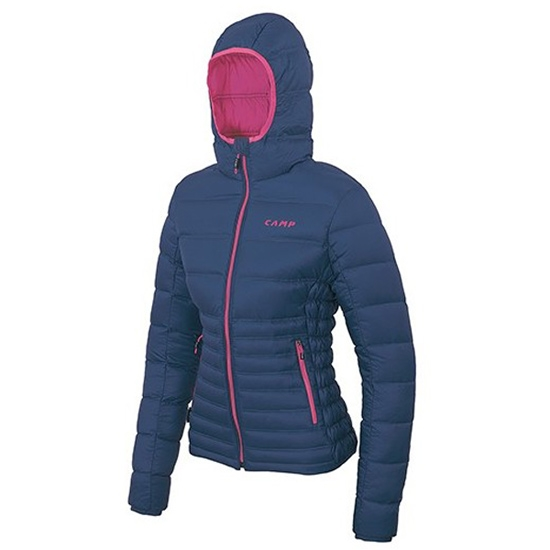 Camp Cloud Jacket W - Cobalt Blue