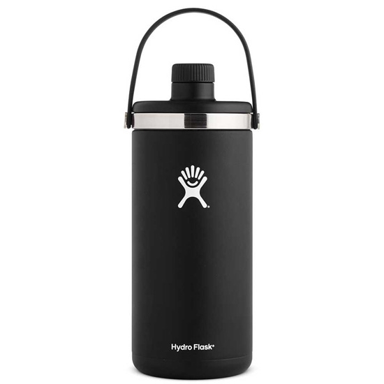 Hydro Flask 128oz Oasis - Black