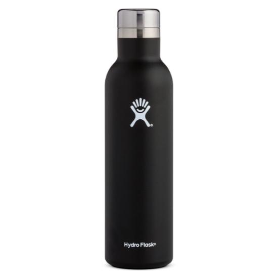 Hydro Flask 25oz Wine Bottle - Black