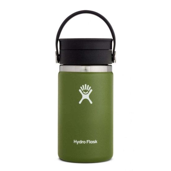 Hydro Flask 12Oz Wide Mouth W/Flex Sip Lid - Olive