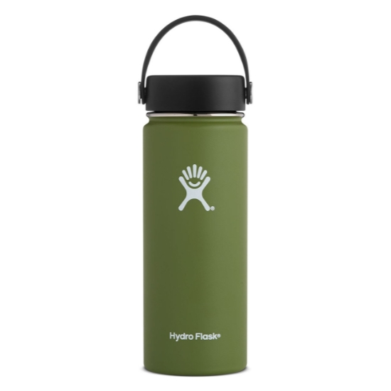 Hydro Flask 18oz Wide Mouth - Olive