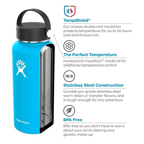 Hydro Flask 18oz Wide Mouth - Photo de détail