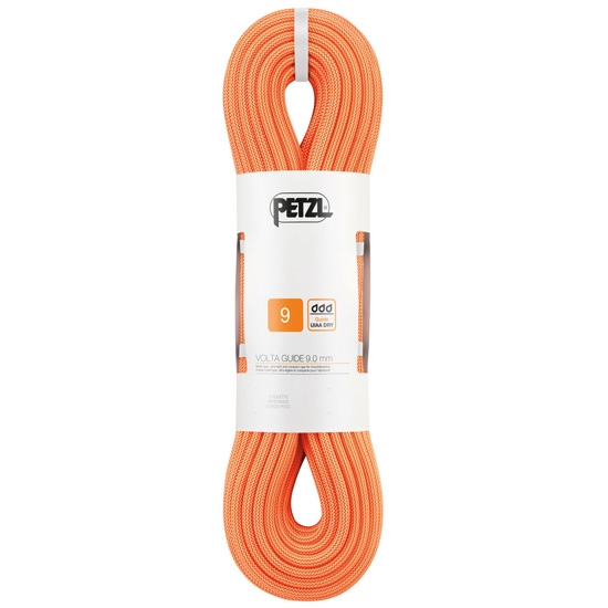 Petzl Volta Guide 9 mm x 40 m - Naranja