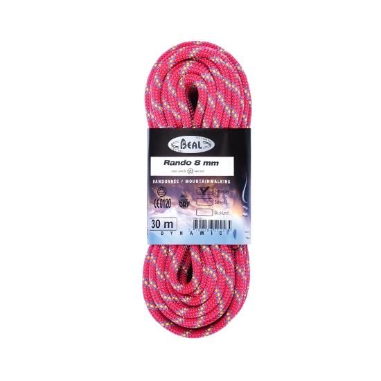 Beal Rando Golden Dry 8 mm x 30 m - Pink