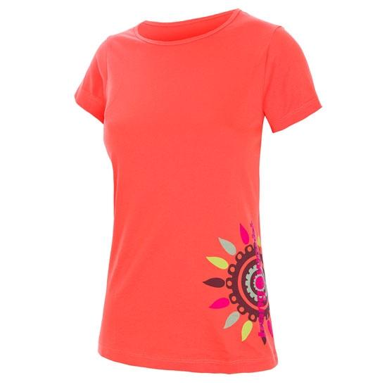 Trangoworld Yxeya Shirt W - Coral Intenso