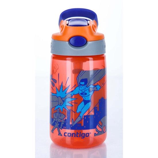 Contigo Gizmo Flip 420ml - Tangerine Superhero