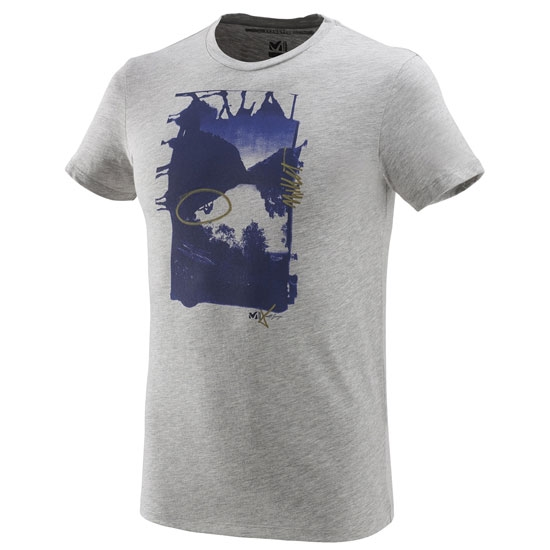 Millet Limited Edition III Ts Ss - Heather Grey