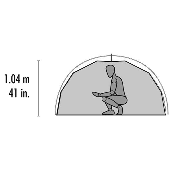Msr Elixir 3 Tent V2 - Photo of detail