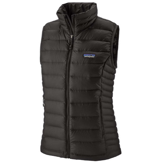 Patagonia Down Sweater Vest W - Black