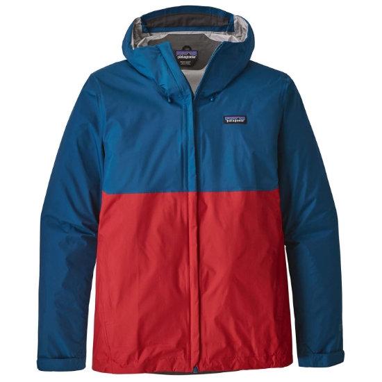 Patagonia Torrentshell Jacket - Big Sur Blue/Fire