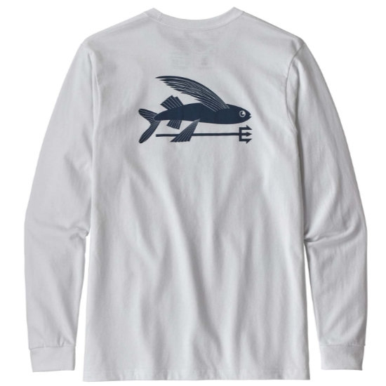 Patagonia L/s Flying Fish Responsibili-Tee - Photo of detail