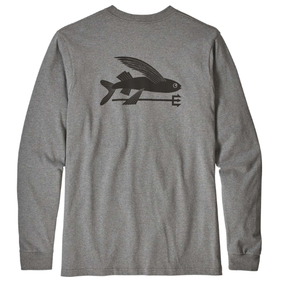 Patagonia L/S Flying Fish Responsibili-Tee - Photo of detail