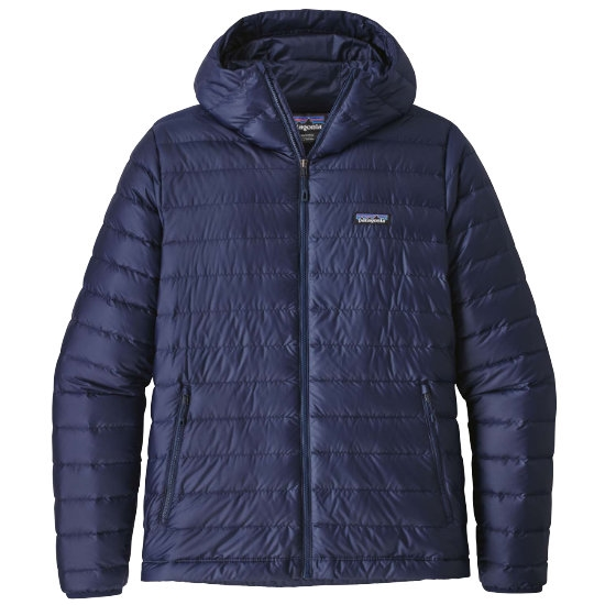 Patagonia Down Sweater Hoody - Classic Navy