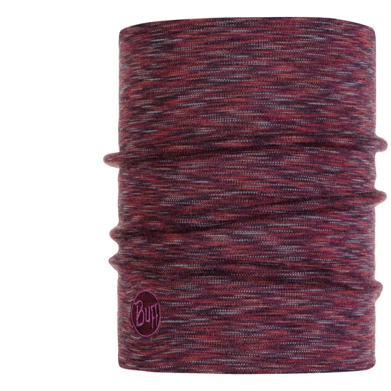 Buff Heavyweight Wool Thermal - Shale Grey Multi Stripes