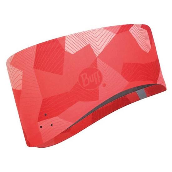 Buff Windproof Headband Buff - Camo Flamingo Pink