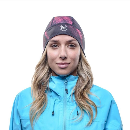 Buff Windproof Tech Fleece Hat - Photo of detail