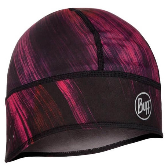 Buff Windproof Tech Fleece Hat - Solar Wind Pink