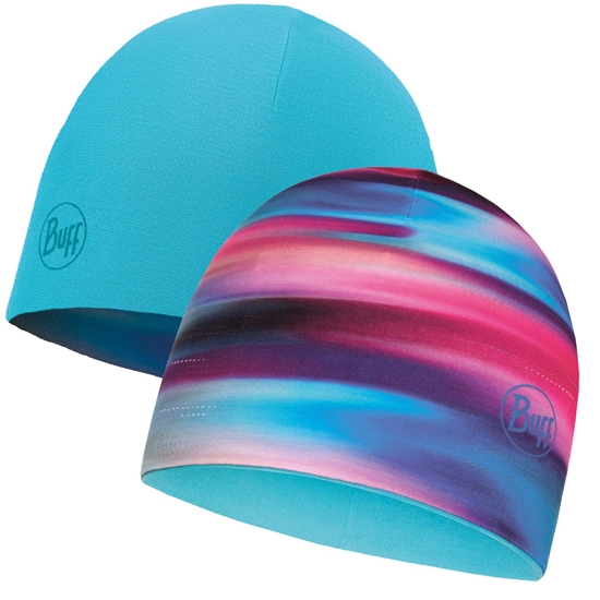 Buff Microfiber Reversible Hat - Multi/Scuba Blue