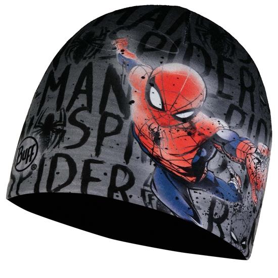 Buff Microfiber & Polar Frozen Spiderman Hat Jr - Skate Park/Black