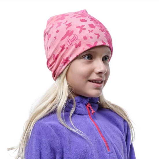 Buff Microfiber & Polar Hat Kids - Photo of detail
