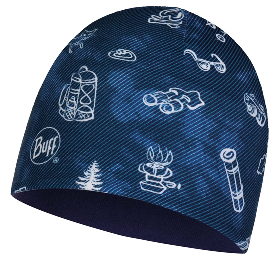 Buff Microfiber & Polar Hat Kids - Navy