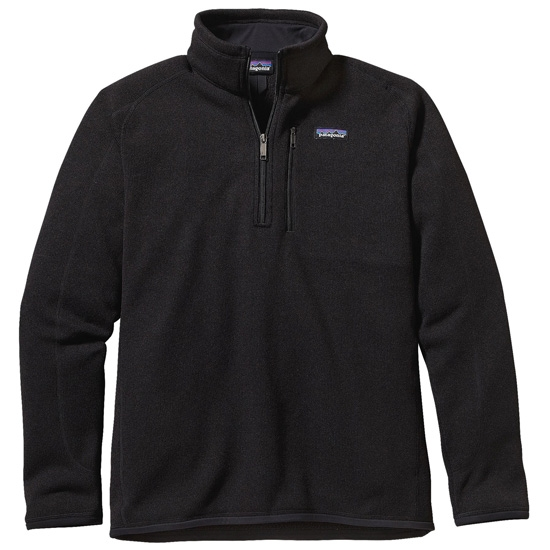 Patagonia Better Sweater 1/4 Zip - Black