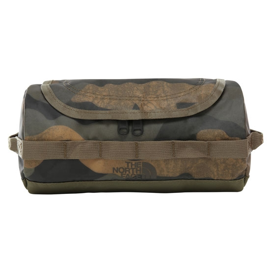 The North Face Bc Travel Canister S - Burnt Olive Green Woods Camo Print