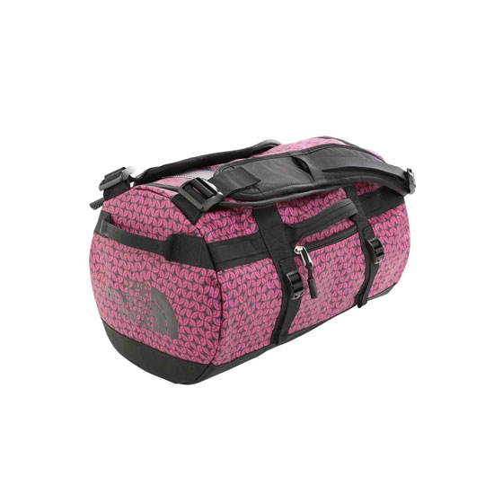 The North Face Base Camp Duffel XS - Festival Pink Melting Dome Print/TNF Black