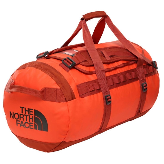 The North Face Base Camp Duffel M - Acrylic Orange/Picante Red