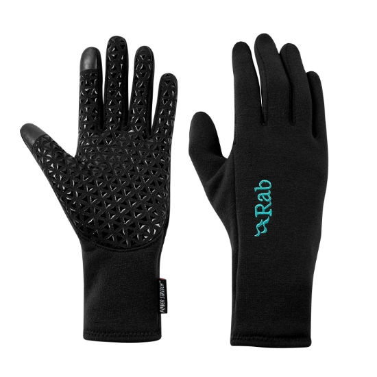 Rab Power Stretch Contact Grip Glove W - Black