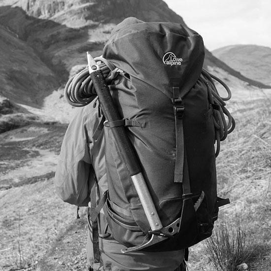 Lowe Alpine Halcyon 35:40 - Photo of detail