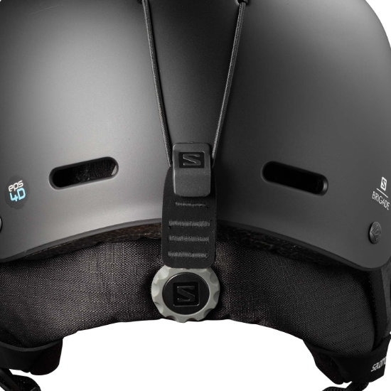 Salomon Helmet Brigade Black - Photo of detail