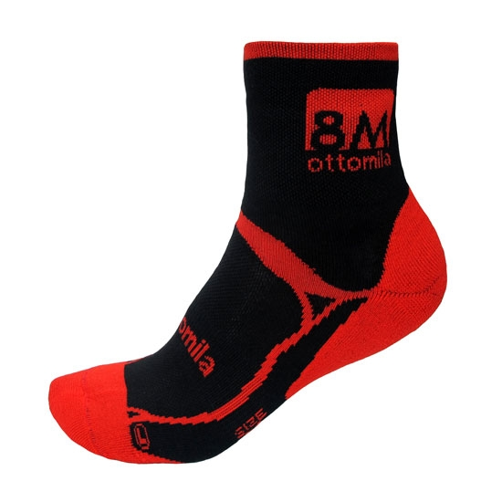 Ottomila Trail Running Long 03 - Red/Black
