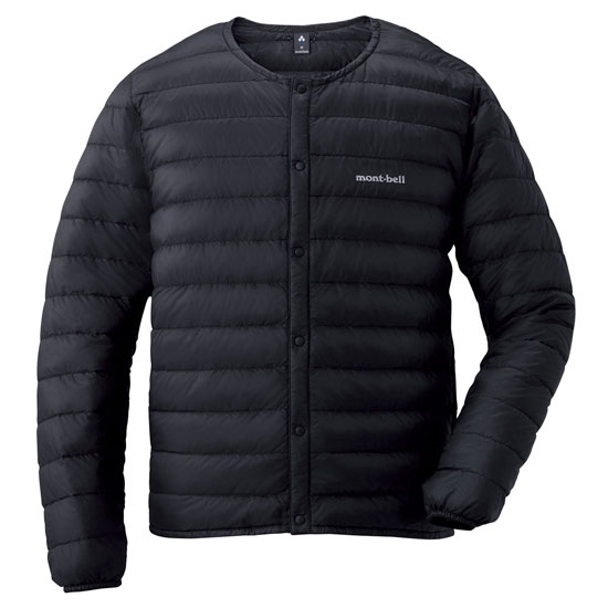 Montbell Superior Down Round Neck Jacket - Black