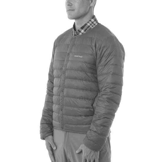 Montbell Superior Down Round Neck Jacket - Photo of detail