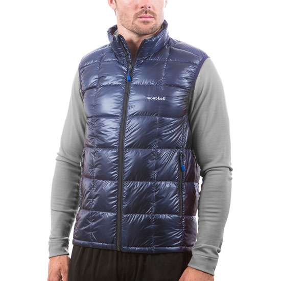 Montbell Superior Down Vest - Photo of detail