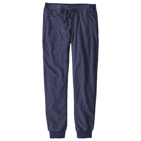 Patagonia Mahnya Fleece Pants - Navy Blue