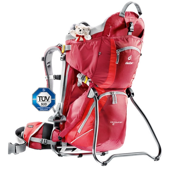 Deuter Kid Comfort II - Cranberry-Fire