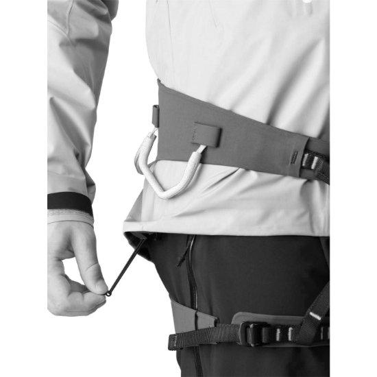 Arc'teryx Alpha SV Jacket - Photo of detail