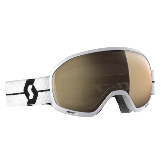 Scott Unlimited II Otg Light S. Bronze Chrome - White/Black