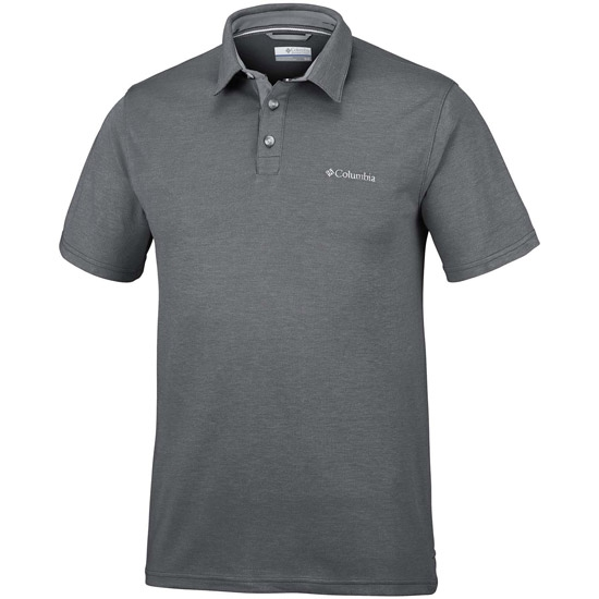 Columbia Nelson Point Polo - Shark