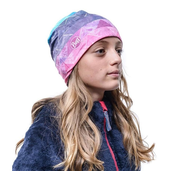 Buff Microfiber & Polar Hat Jr - Photo of detail