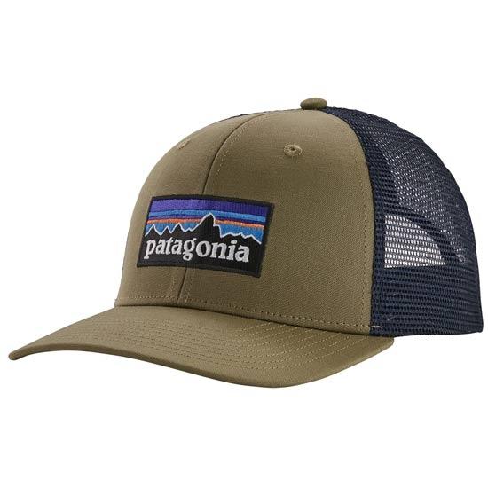 Patagonia P-6 Logo Trucker Hat - Sage Khaki