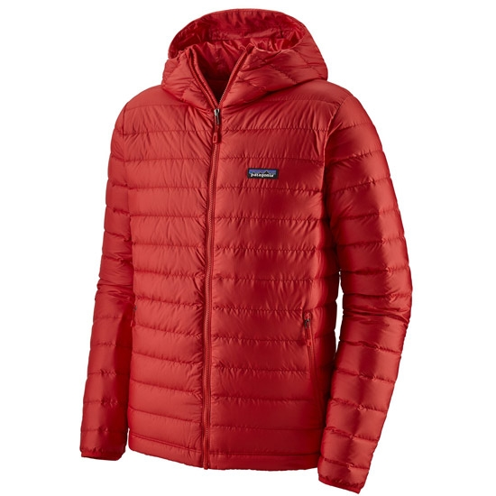 Patagonia Down Sweater Hoody - Fire w/Fire