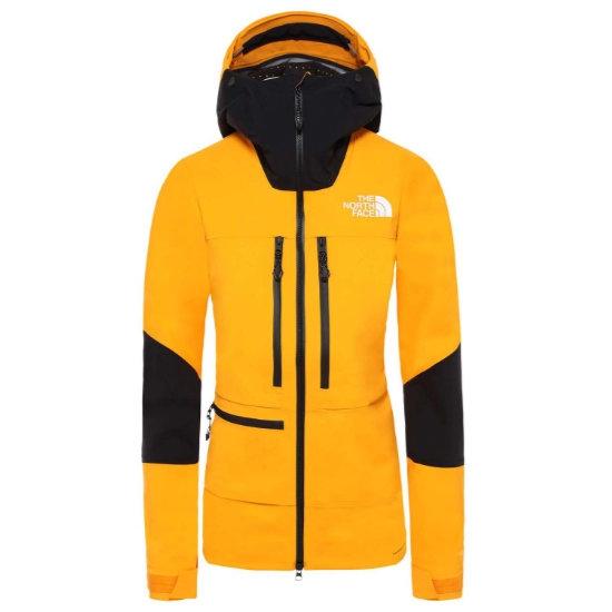 The North Face Summit L5 Futurelight Jacket W - Knockout Orange/TNF Black