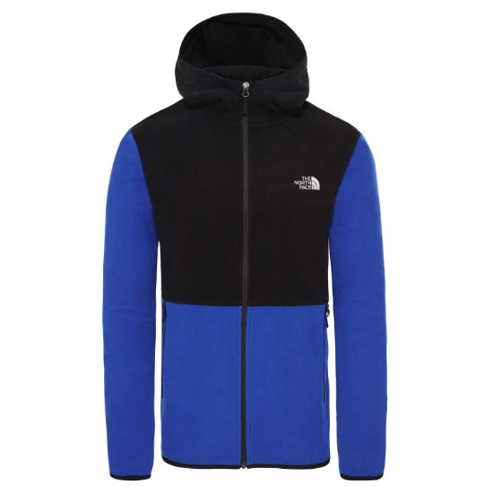 The North Face Tka Glacier Full Zip Hoodie - Blue/Black