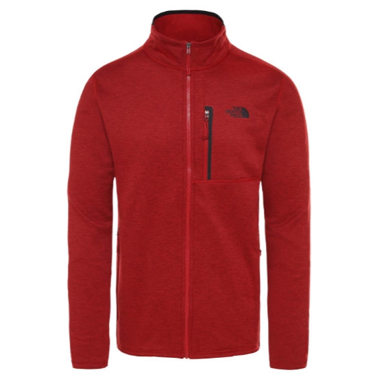 The North Face Canyonlands FZ - Cardinal Red Heather